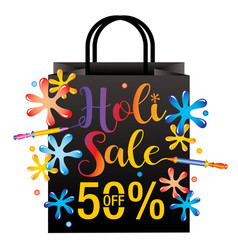 Holi sale vector