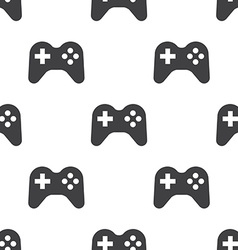 joystick seamless pattern vector image
