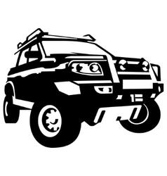 Off road vehicle vector