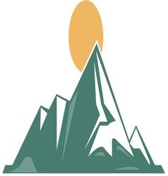 Sunrise Mountain vector