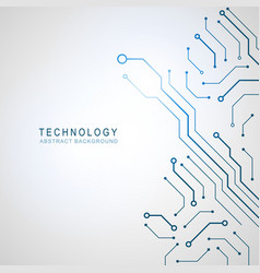 abstract technological background structure vector image