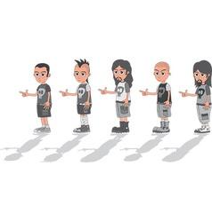 Band vector image