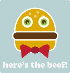 Heres The Beef vector