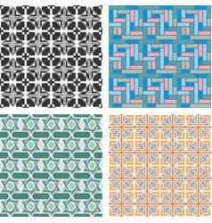 Seamless patterns 1 vector