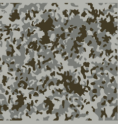 snow flectarn camouflage seamless patterns vector image