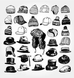 hats vector image vector image