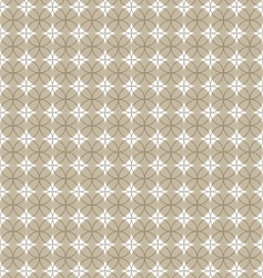 pattern with circle vector image vector image