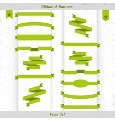 ribbon and banners vector image