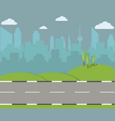 city street - vector image