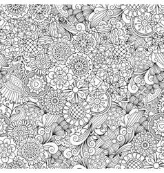 Creative ornamental full frame background vector image vector image