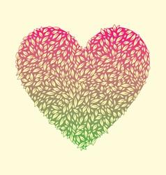Leaf Love vector image vector image