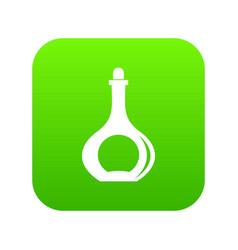 Carafe icon digital green vector