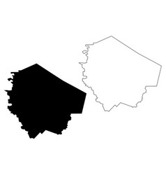 Fort bend county texas counties in texas united vector