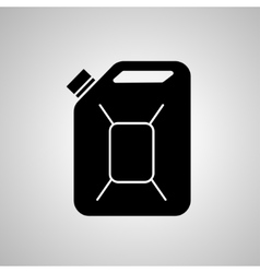 Fuel can icon jerrycan oil icon vector