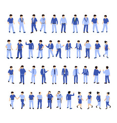 Isometric people urban vector