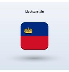 Liechtenstein flag icon vector