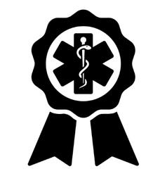 Medical Seal Icon vector