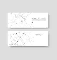 abstract cover templates modern geometric vector image