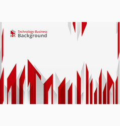 Abstract of high sharp red technology geometrical vector