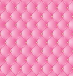 Abstract upholstery on a pink background vector image