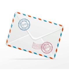 detailed envelope vector image