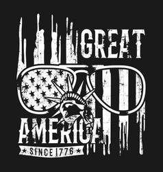 great america design template for sale vector image