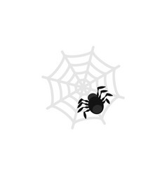 Isolated spider flat icon spinner element vector