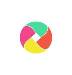 Loop circle Icon vector image