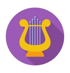 Lyra icon vector