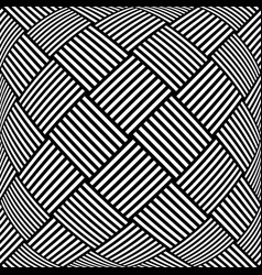 Op art checked pattern vector