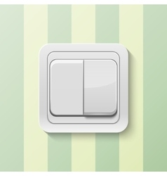 Realistic switch vector image
