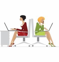 office women vector image vector image