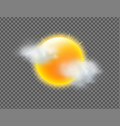 weather icon vector image vector image