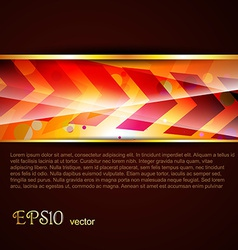 beautiful template vector image vector image