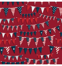usa party pattern vector image