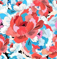 Beautiful pattern of colorful vector image vector image