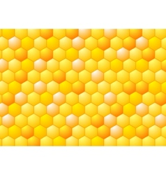 Abstract honeycombs Tech geometric design vector