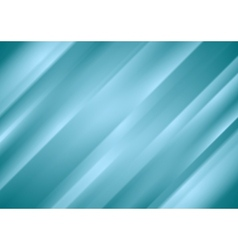 Blue abstract stripes background vector
