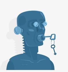 Concept blind deaf mute vector