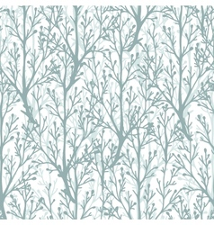 Forest trees texture seamless pattern background vector