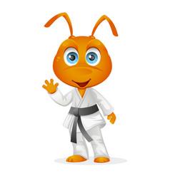 Karate ant vector