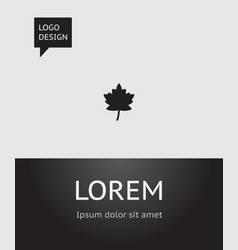 of planting symbol on maple vector image