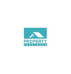 property apartment logo design vector image