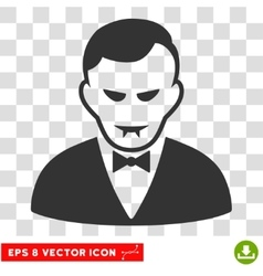 Vampire EPS Icon vector