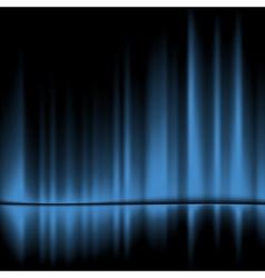 blue drapes reflected background 10eps vector image