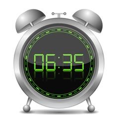 Digital Alarm Clock vector image vector image