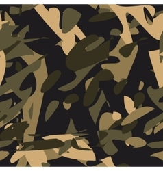 Camouflage seamless patternMilitary vector image
