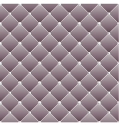 Abstract upholstery on a gray background vector image vector image