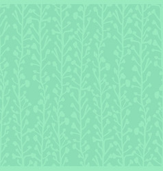 subtle nature background seamless pattern vector image
