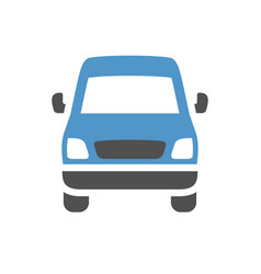 Vehicle flat icon vector